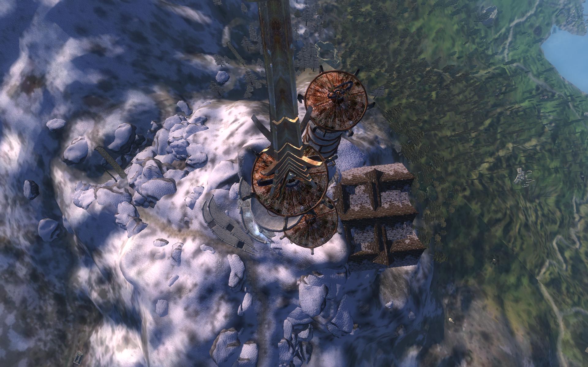 Oblivion Frostcrag Spire Glitch Rings