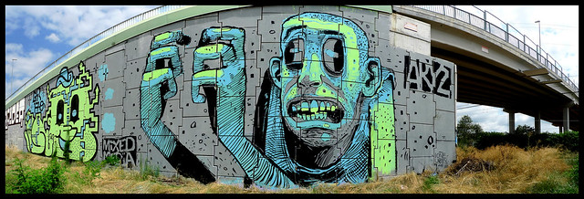 By GRITO, ARYZ (Mixed Media)