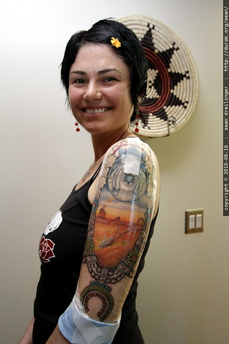photo: new colors in the navajo tattoo - by 43927576@N00