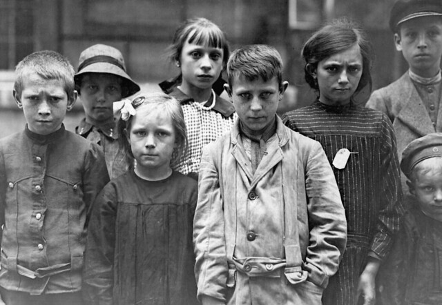 Refugee children at Grand Val, near Paris, France, where a home has been established for them by the A.R.C.  Ca. 1918-19.   American Red Cross. (War Dept.)