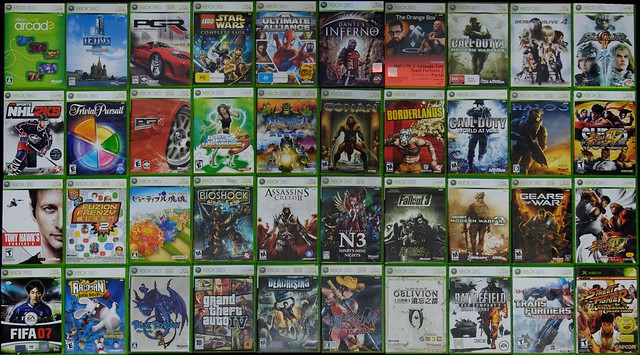 All Xbox 360 Games : My xbox games collection august flickr