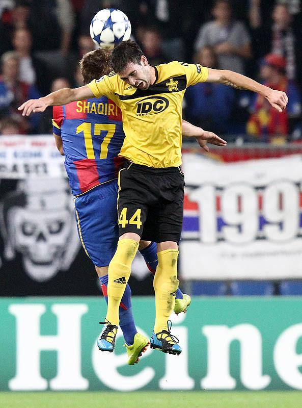 FC Basel vs. FC Sheriff Triaspor