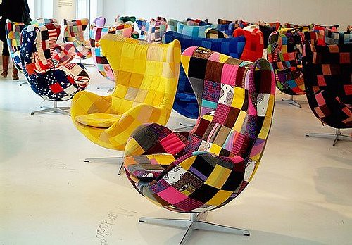 Inspiration   Patchwork Chairs   A Gallery On Flickr