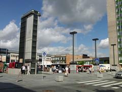 Neubrandenburg - Chronik Neubau Tiefgarage und Marktplatz