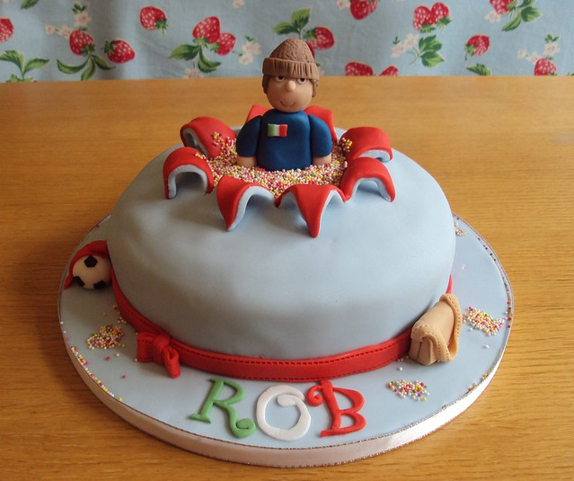 birthday cake explosion