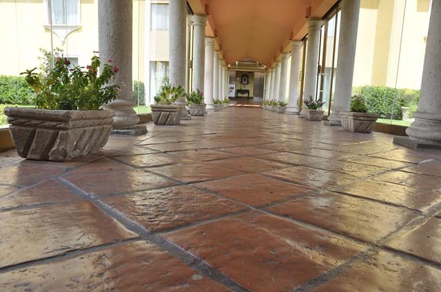 Large Tiles For Backyard : Outdoor Terracotta Tile  Flickr  Photo Sharing!