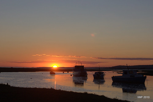 Penclawdd  -  High Tide Sunset