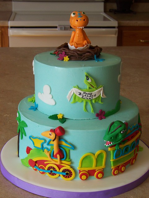Dinosaur Train Cake Images : 4938333570_7e067ddd1a_z.jpg