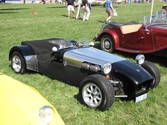 race car, automobile, lotus seven, vehicle, open-wheel car, mk indy, caterham 7 csr, antique car, classic car, vintage car, land vehicle, sports car,