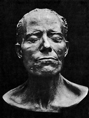 Gustav Mahler, death mask, 1911