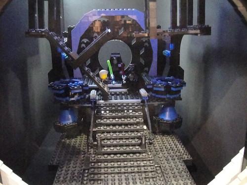 Star Wars Celebration V - Lego diorama - Luke vs Vader duel