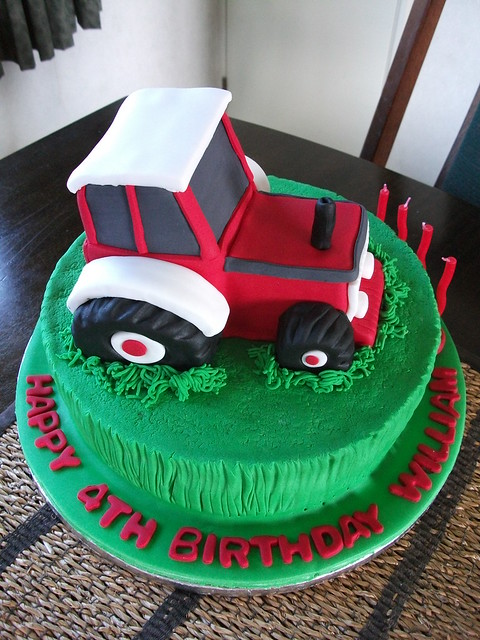 Tractor Birthday Cake Flickr - Photo Sharing!