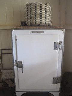 General Electric (GE) Monitor top refrigerator (c. 1930), Waipahu