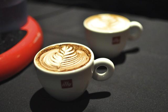 Illy espresso tasting