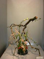 Japanese flower arrangement 34, Ikebana: いけばな