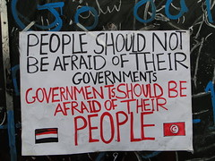 People Should Not Be Afraid of Their Governments, Governments Should Be Afraid of Their People