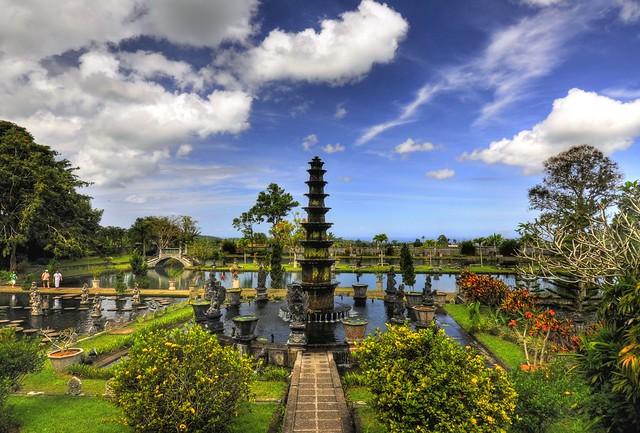 Tropical garden Bali