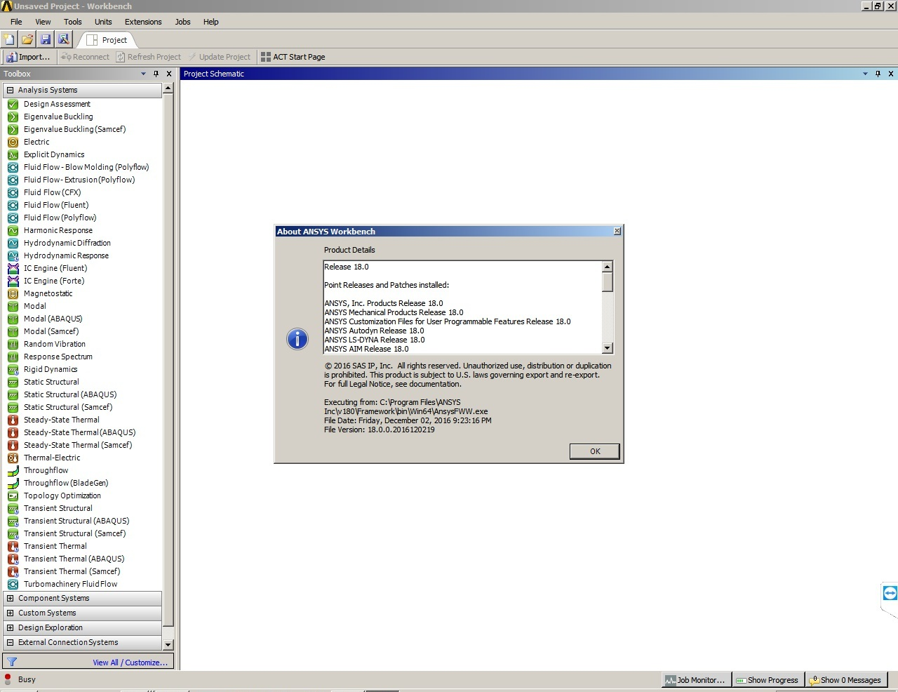 ANSYS Products 18.0 64bit full crack