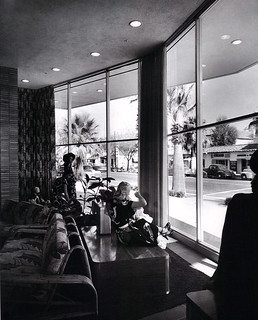 Bullock's Palm Springs windows 1950's