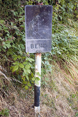 Pre-Worboys road sign