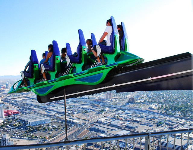 Stratosphere Tower's X-Scream Ride - a photo on Flickriver