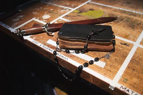Bible & Roseary Beads