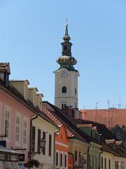 Looking towards St Marys church