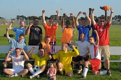 48 LRS vs 48 MDG-A - Intramural Soccer Final, RAF Lakenheath