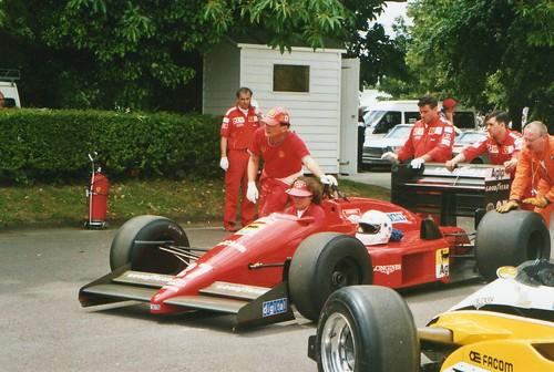 1987 Ferrari F187/88C by jane_sanders