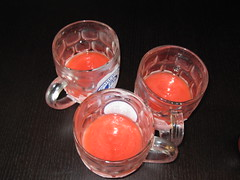 produce(0.0), fruit(0.0), food(0.0), pink(0.0), lighting(0.0), organ(0.0), red(1.0), distilled beverage(1.0), glass(1.0), punch(1.0), drink(1.0), cocktail(1.0), alcoholic beverage(1.0),