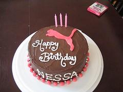 Puma Not Cougar 39th Birthday Cake