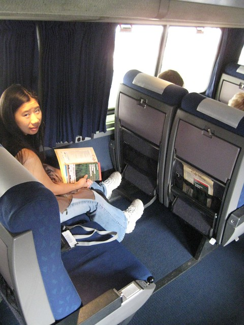 Amtrak Coast Starlight Coach Car Seats Flickr Photo