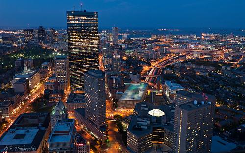 Boston à l'heure bleue