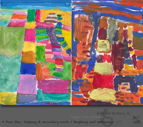 "6 yrs) _1* Paul Klee: ""Hauptweg und Nebenwege"" /highway & secondary roads by SeRGioSVoX"