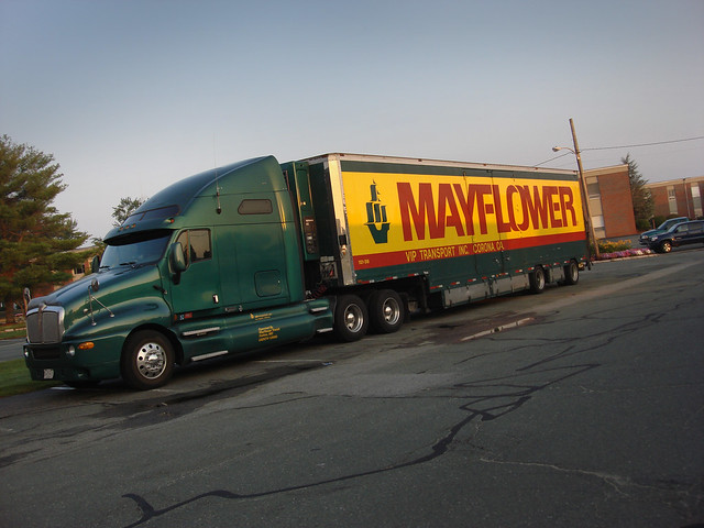 Mayflower moving truck.  Wakfield, MA (2010)
