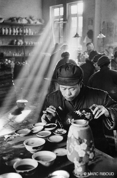 Beijing, by Marc Riboud 1957