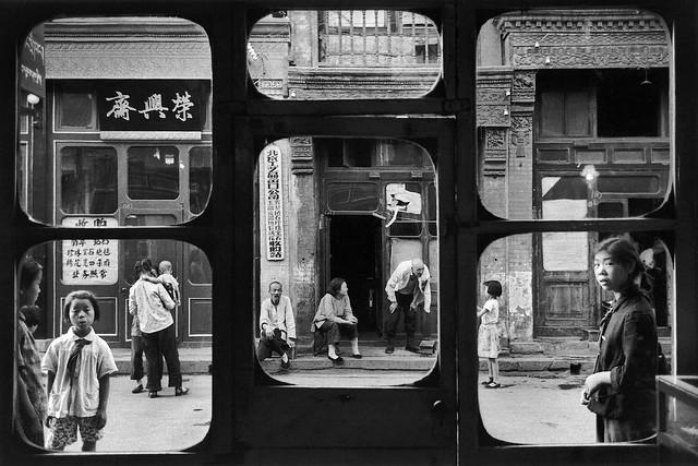 Antique Dealer, Beijing, by Marc Riboud 1965