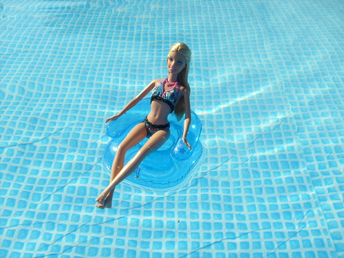 Barbie in my swimming pool a photo on flickriver - Why eyes get red in swimming pool ...