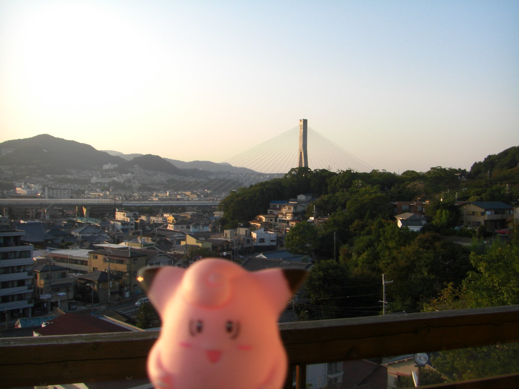 Clefairy in Ikeda, Osaka 18 (Ikeda Castle remains)
