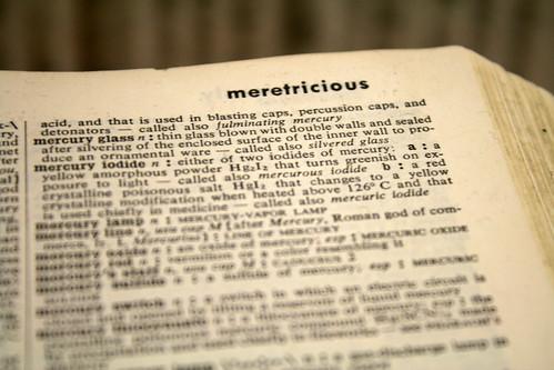 Meretricious