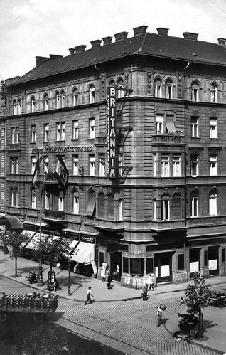Radisson Blu Béke Hotel - retro kép