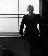 T.S. Eliot, by Bill Brandt 1945