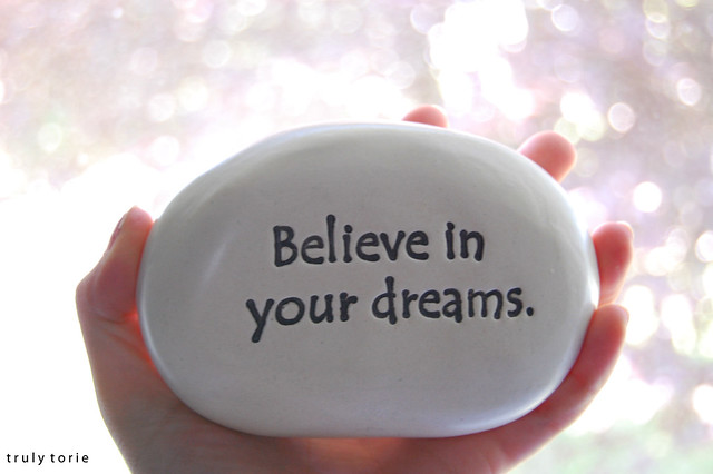 believe in your dreams 6 days ago  nothing but self-doubt alone can kill your dreams  will cheer for you only after it  turns into reality but till then few will believe in your vision.