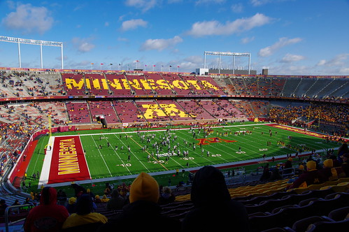 Homecoming at TCF Bank Stadium