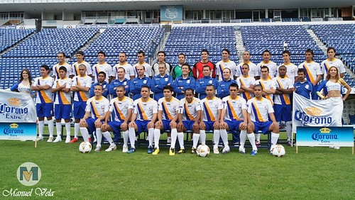 DSC00172 FOTO OFICIAL del plantel Lobos BUAP Apertura 2010 Liga de Ascenso, Estadio Cuauhtémoc por LAE Manuel Vela