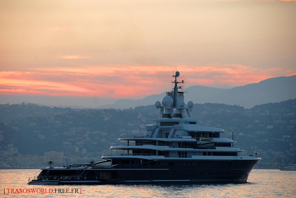 Yacht Luna Latest Abramovitch Yacht Finaly Back My 18 20 Flickr