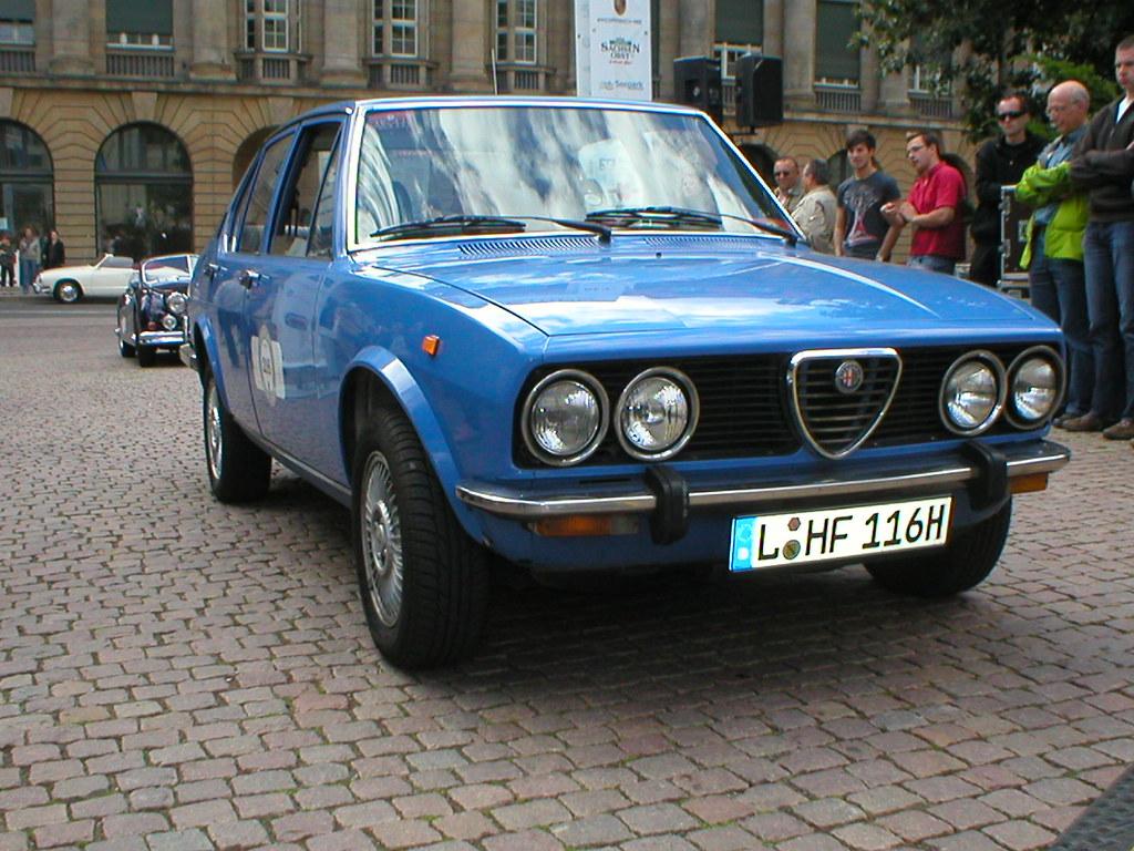Alfa Romeo Alfetta 16 Series 1 Typ 116 A Photo On Flickriver Transaxle
