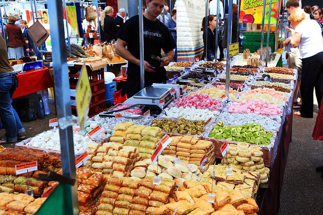 Baklava Vendor