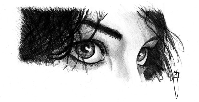 woman eyes II