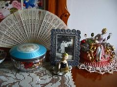 Great aunt Ora Mabel's vanity set